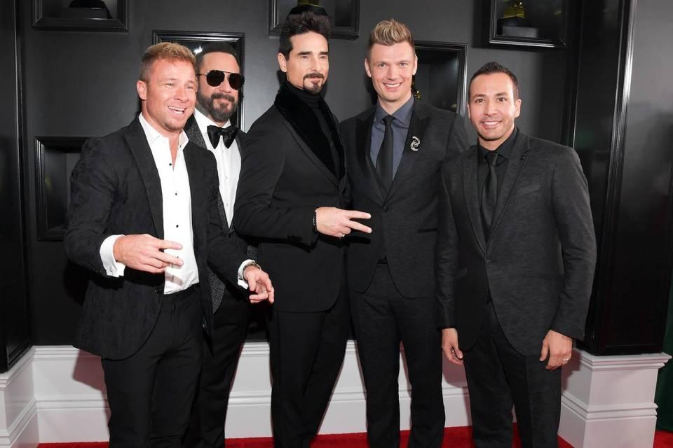 Grammy 2019: Meus looks favoritos dos famosos no tapete vermelho Backstreet Boys