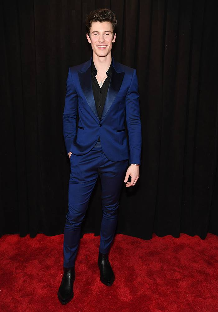 Grammy 2019: Meus looks favoritos dos famosos no tapete vermelho Shawn Mendes