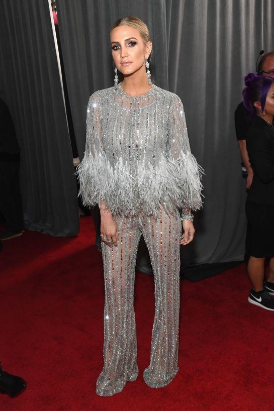 Grammy 2019: Meus looks favoritos dos famosos no tapete vermelho Ashlee Simpson