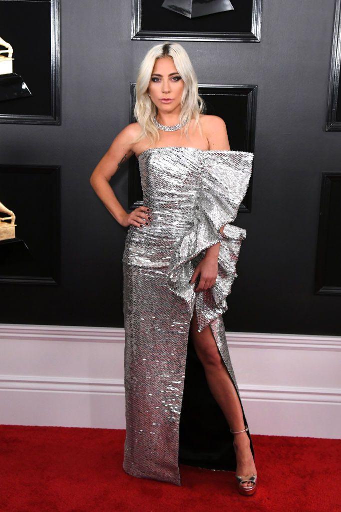 Grammy 2019: Meus looks favoritos dos famosos no tapete vermelho Lady Gaga