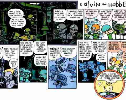 strange calvin dreams