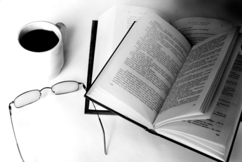 coffee and book / reading