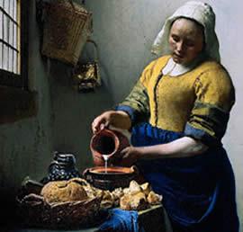 La Lechera- Vermeer