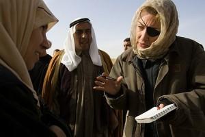 Marie Colvin trabajo de campo