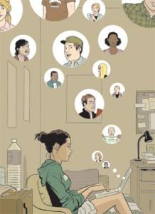 Historias virales (imagen de The New Yorker)