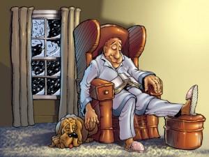 Abuelo y vida