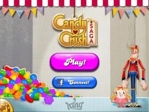 Entrada en Candy Crush Saga