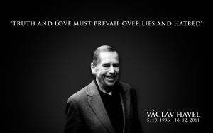 el ejemplo de Vaclav Havel