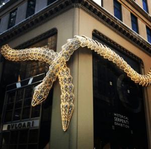 Tienda de Bulgari, Nueva York