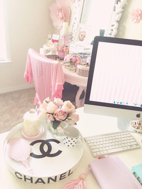 girly home decor