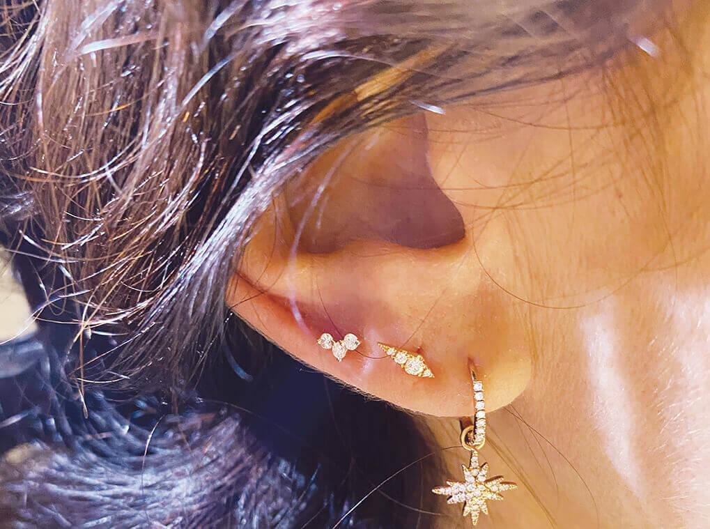 piercing Oreille pour femme