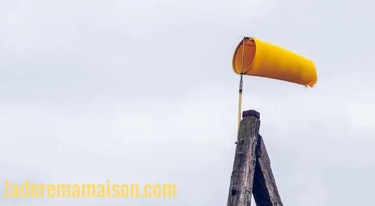 Appareil pour mesurer la vitesse du vent