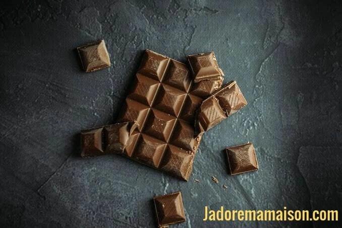 comment casser une tablette de chocolat en pépites