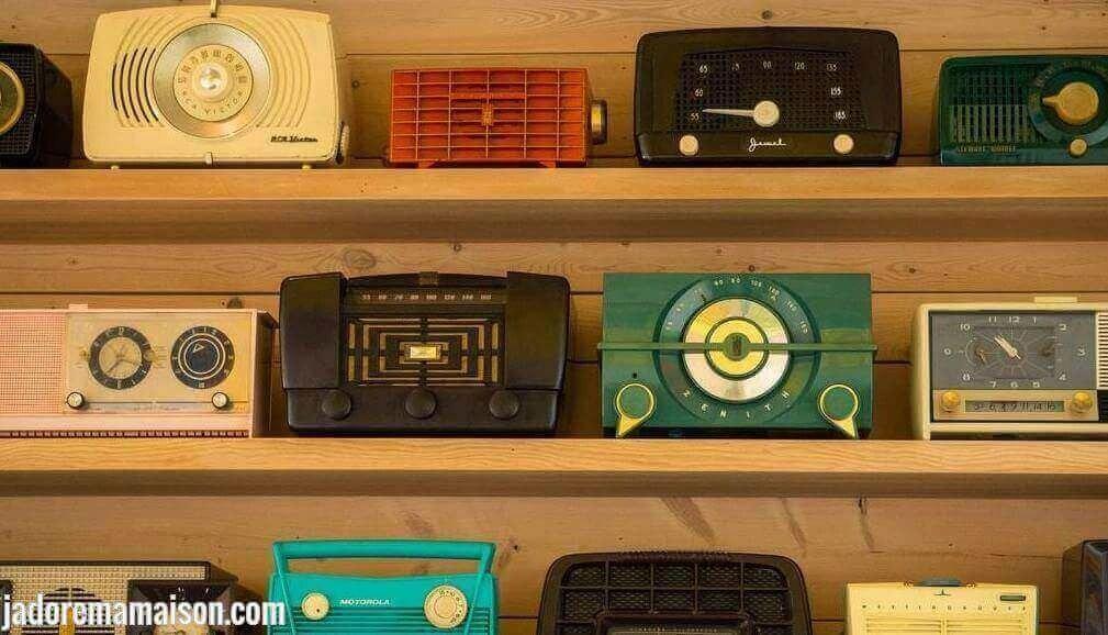 poste radio simple pour personne âgée