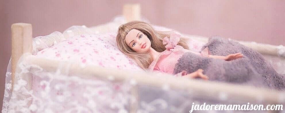 Maison de Poupée Barbie en bois