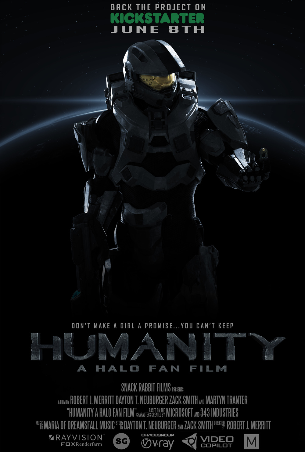 Great Halo Fan Film Could Come Jadorendr