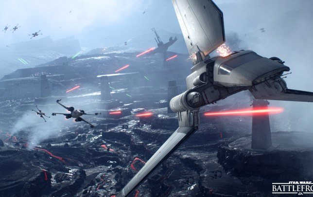 Star Wars Battlefront Modus Jaegerstaffel 04