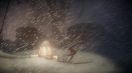 Yarny Snow Lantern