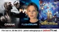 Jadwal Film dan Sepakbola 06 Mei 2012