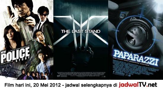 Jadwal Film 20 Mei 2012