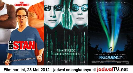 Jadwal Film dan Sepakbola 28 Mei 2012