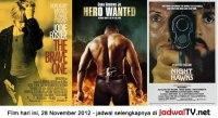 Jadwal Film dan Sepakbola 28 November 2012