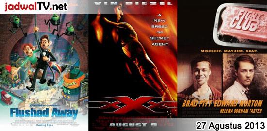 Jadwal Film dan Sepakbola 27 Agustus 2013
