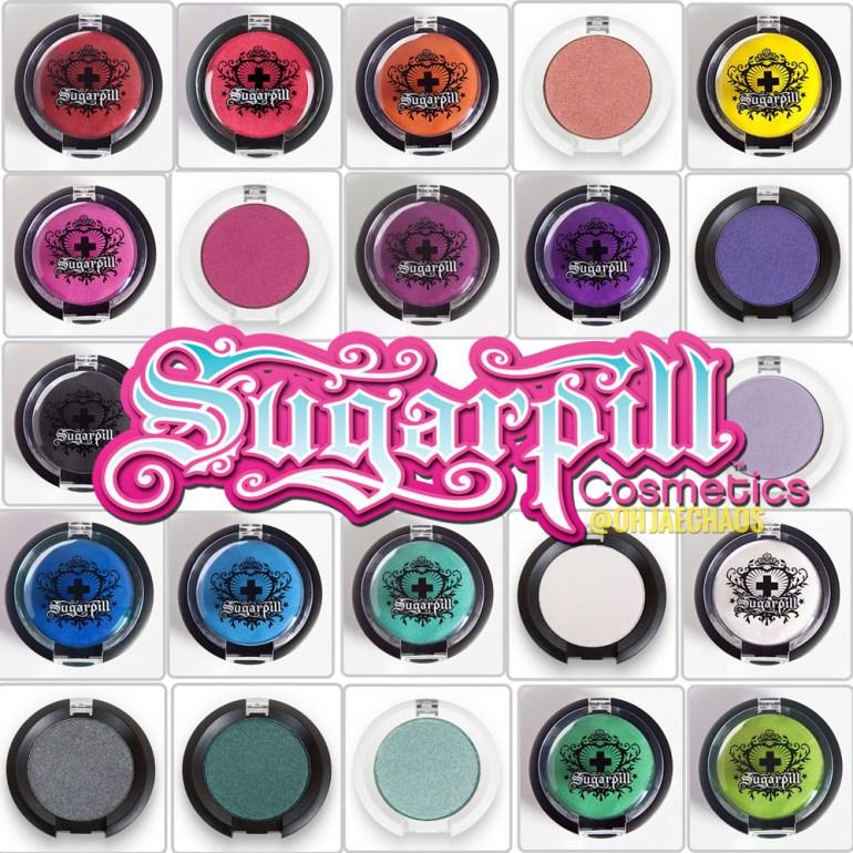 So Many Pretties - Sugarpill Pressed Eyeshadows