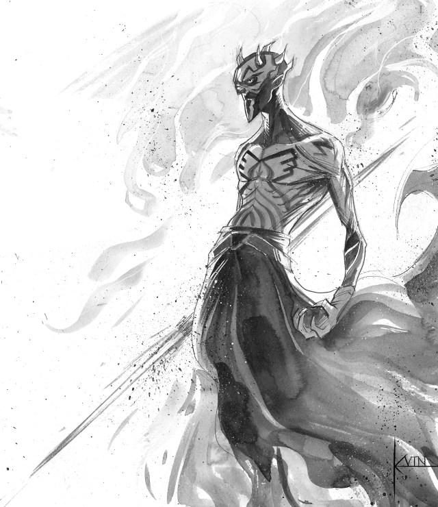 Darth Maul original by Color Reaper