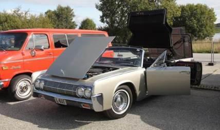 Amcar klubben deltok også for første gang med en rekke spennende biler