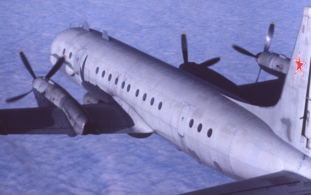 "Iljusjin Il-20 ""Coot-A"". Foto: Arne Thorvaldsen / Jærmuseet avd. Flyhistorisk Museum Sola"