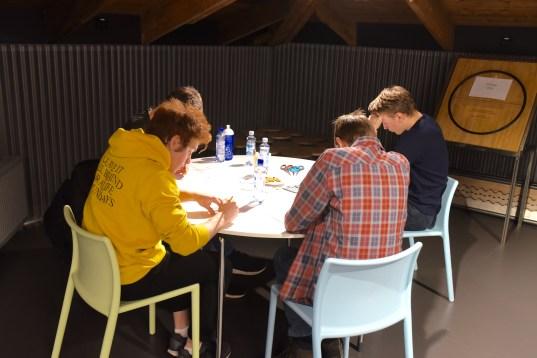 Godt samarbeid i alle gruppene. Foto: Torbjørn Moe Eggebø