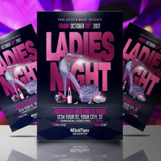 Ladies Night (Free) Flyer Template