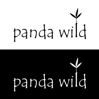 Panda Wild Logo Design