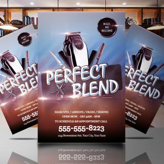 Perfect Blend Flyer Template
