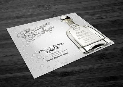 Platinum Patron Nightclub Flyer Template