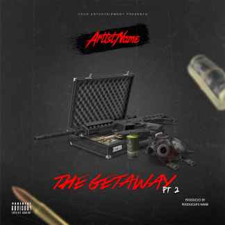 The Getaway 2 Single Cover Template