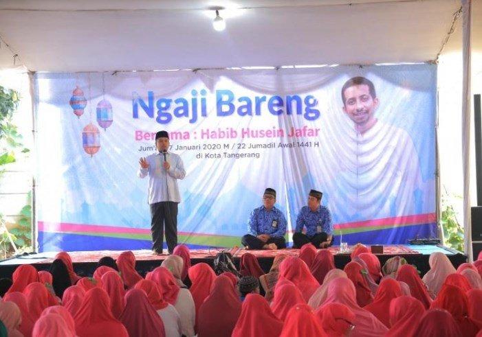 Ngaji Bareng Bersama Habib Husein Jafar Di Kediaman Wali Kota.