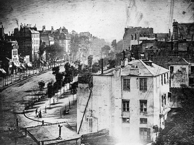 The World's First Photograph Ever Of A Person
