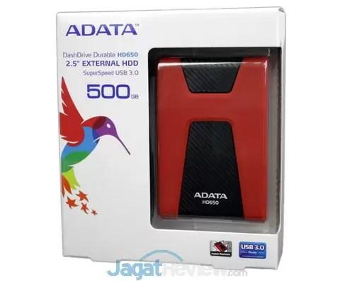 Review ADATA DashDrive Durable HD650 HDD Eksternal USB 3