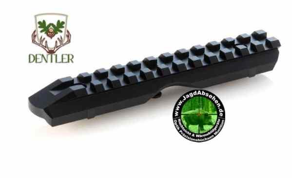 FMWE-00000 Montageschiene BASIS - Weaver Picatinny Dentler bei Jagdabsehen