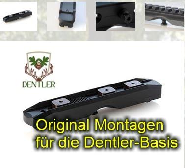 Fxxx-00000 Montageschiene BASIS Dentler bei Jagdabsehen