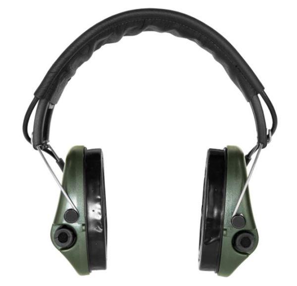 Gehörschutz Sordin PRO-X mit Gelkissen und LED bei Jagdabsehen 2