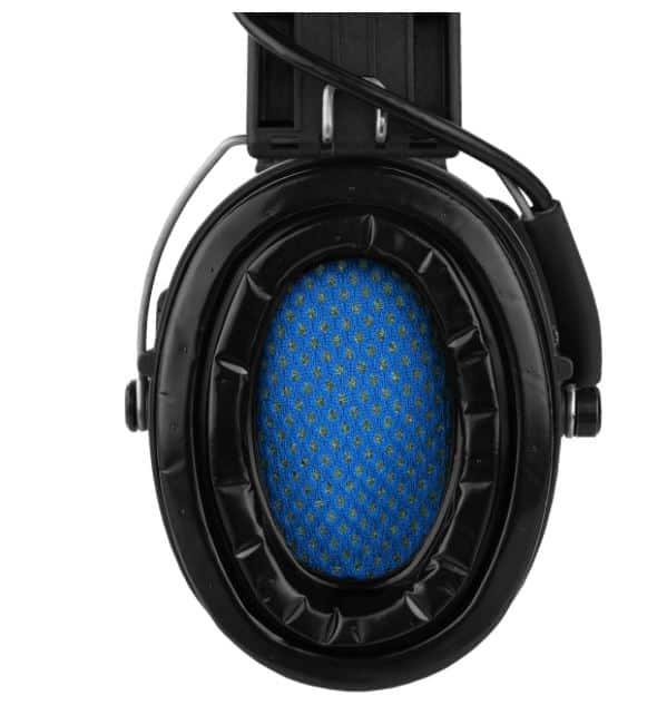 Gehörschutz Sordin PRO-X mit Gelkissen und LED bei Jagdabsehen 5
