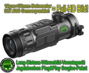 Jagdabsehen INFIRAY CH50-2021 SorglosPaket-Wärmebildvorsatzgerät-Plug & Play 0