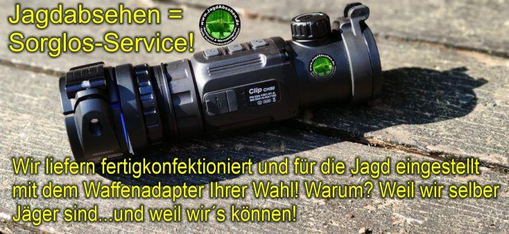 Jagdabsehen INFIRAY CH50-2021 SorglosPaket-Wärmebildvorsatzgerät-Plug & Play 9