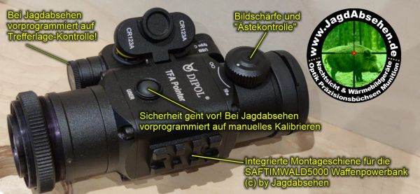 Jagdabsehen Spezial Edition TFA Pointer Jagdpaket 1