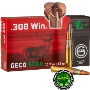 Munition von Jagdabsehen in Karlsruhe Knielingen 308 Win Geco Star 10,7g 165grs 0