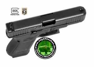 Pistole Kurzwaffe Glock 19 Gen 5 bei Jagdabsehen 6