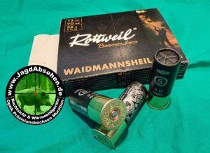 Schrotpatronen Rottweil Premium Line 20 -70 3mm Nr.5 Pappe bei Jagdabsehen